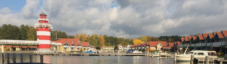 Ferienhäuser im Hafendorf Rheinsberg